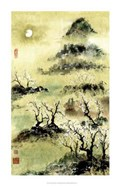Viewing Plum Blossoms in Moonlight