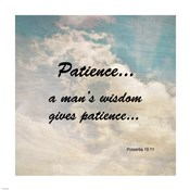 Patience Proverbs 19:11 Against the Sky