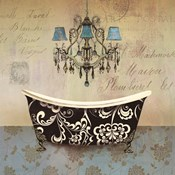 French Vintage Bath II - Mini