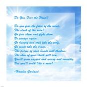 Do You Fear the Wind- Poem by Hamlin Garland