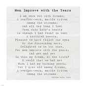 Men Improve With the Years, William Butler Yeats