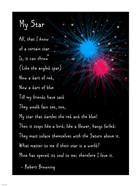 My Star by Robert Browning - long