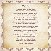 My Fairy by Lewis Carroll - square