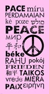 Pink Peace Languages