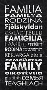 Family in Different Languages