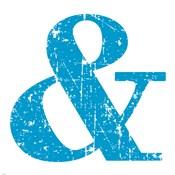 Blue Ampersand