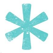 Aqua Asterisk