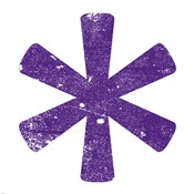Purple Asterisk