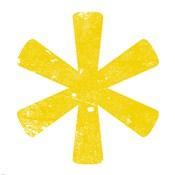 Yellow Asterisk