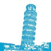 Pisa in Blue