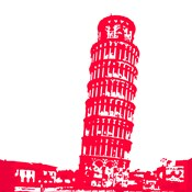 Pisa in Red