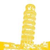Pisa in Yellow