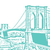 Aqua Brooklyn Bridge