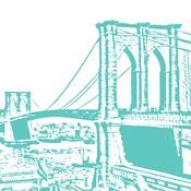 Aqua Brooklyn Bridge