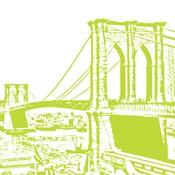Lime Brooklyn Bridge