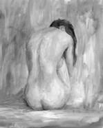Figure in Black & White II
