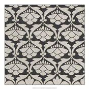 Black & Tan Tile III