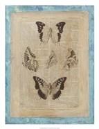 Bookplate Butterflies IV