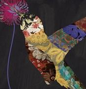 Hummingbird Brocade II