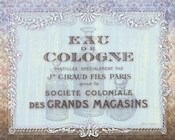 French Soap Label I