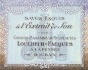 French Soap Label II