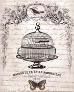 French Birdcage I - mini
