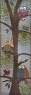 Fantasy Owls Panel II