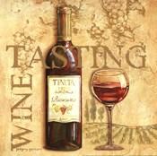 Wine Tasting Square
