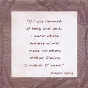 Mother O Mine