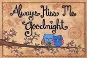 Always Kiss Me Goodnight - owls