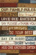 Our Family Rules I