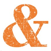 Orange Ampersand