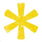Yellow Asterisk