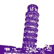 Pisa in Purple