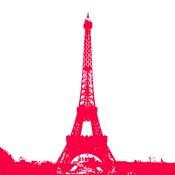 Red Eiffel Tower