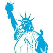 Liberty in Blue