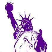 Liberty in Purple