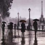 Paris Red Umbrella