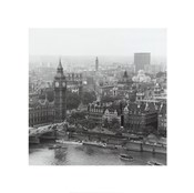 City Of Westminster From The South Bank Of The Thames, 1963
