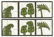 2-Up Verde Botanical I
