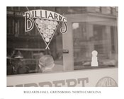 Billiards Hall, Greensboro, North Carolina