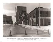 Buick Motor Company & Greensboro Motor Company Guilford County, NC 1979 photography