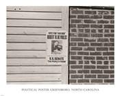 Political Poster Greensboro, North Carolina
