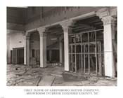 First Floor of Greensboro Motor Company Guilford County, NC
