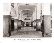 First Floor Main Lobby O. Henry Hotel Greensboro NC 1978