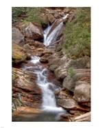 Skinny Dip Falls in Western North Carolina