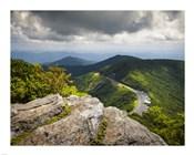 Blue Ridge Parkway Craggy Gardens Scenic Mountains Asheville NC