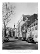 Salem College, General View, Salem Square, Winston-Salem, Forsyth County, NC