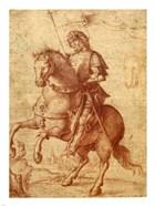A Saint on Horseback