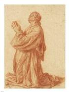 Study of a Kneeling Man